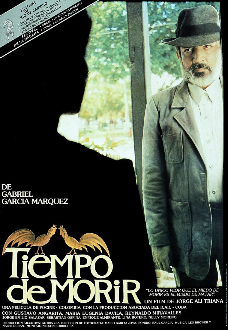 Arriba Tiempo de morir Arturo Ripstein 1966, abajo Tiempo de morir Jorge Alí Triana 1985