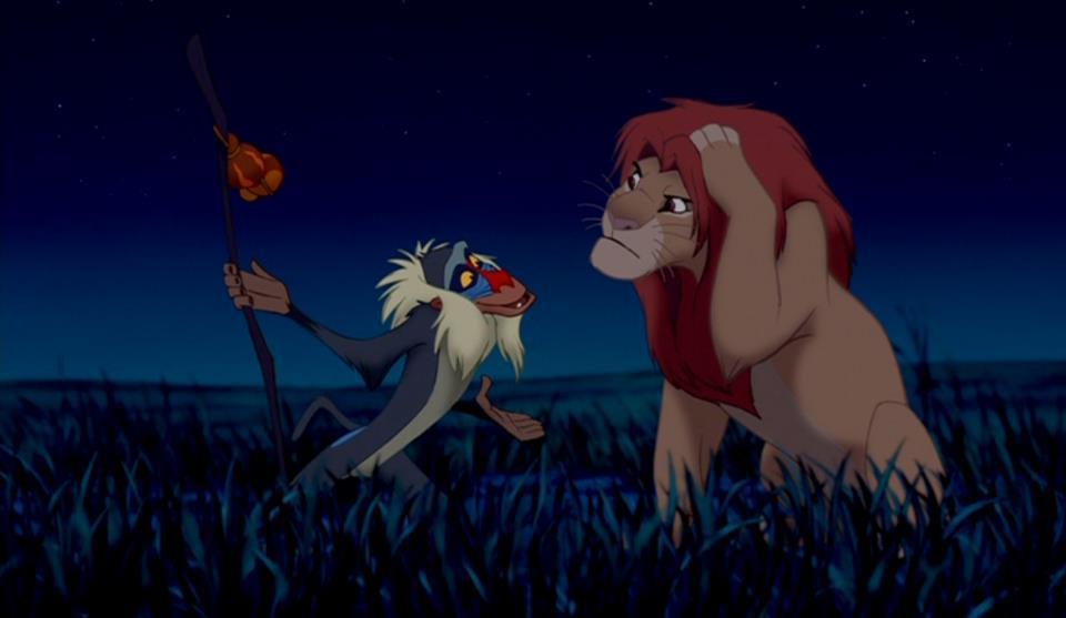 Rafiki y Simba, El rey león