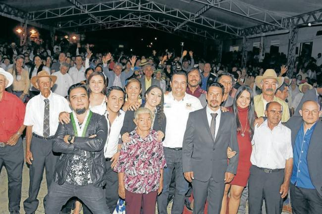 Fotografía: Proyección y lanzamiento de la película Pariente en Güepsa Santander Colombia