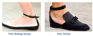 Zapatos con banda en tobillo