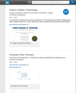 Diplomas LinkedIn