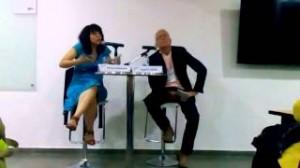 Paloma Bahamón presenta su poemario Aguafuerte en la ULibro