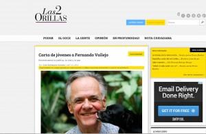 Carta de jóvenes a Fernando Vallejo