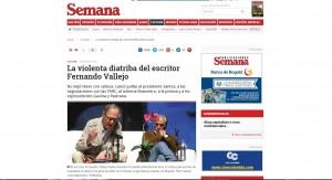 La violenta diatriba de Fernando Vallejo