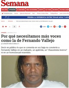 Por qué necesitamos más voces como la de Fernando Vallejo