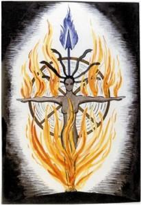 Imagen del cuaderno de Christiana Morgan.