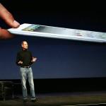 Steve Jobs presentando el iPad 2 (Foto: AFP)
