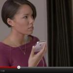 Hablando a través de Siri en un iPhone 4S