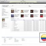 The Colombian iTunes Store, La versión para Colombia de la tienda de Entretenimiento Digital de Apple.