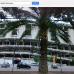 El Nou Camp de Barcelona, visto desde Street View.
