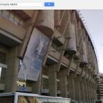 El Santiago Bernabeu, sede del Real Madrid.