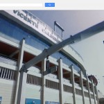 El estadio Vicente Calderón, de Madrid, en donde juega Falcao.