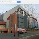 Old Trafford, conocido como El Teatro de los Sueños, sede del Manchester United.