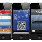 Imagen de un pasabordo de avión en un iPhone con PassBook. (Cortesía: Apple Comp.)