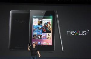 El lanzamiento del Nexus 7 de Google.