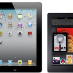 Un iPad al lado del Kindle Fire