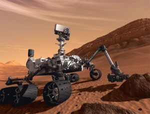 El Curiosity (Cortesía de NASA)